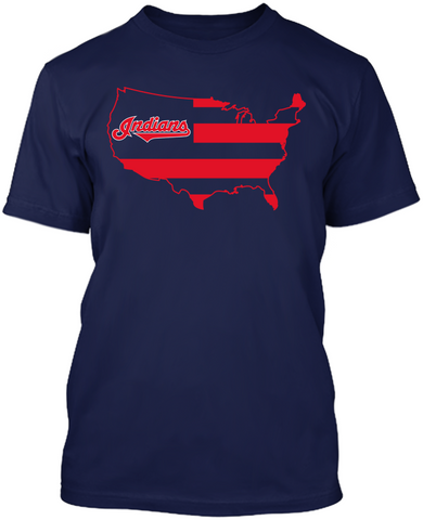 Cleveland Indians - Broad Stripes