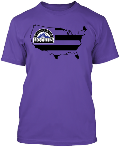 Colorado Rockies - Broad Stripes