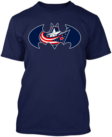 Batman - Columbus Blue Jackets