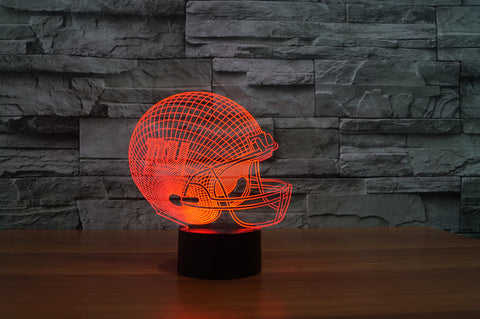 "New York Giants ""Helmet"" - 3D LED Lamp/Night Light"