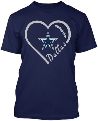 Dallas Cowboys Heart