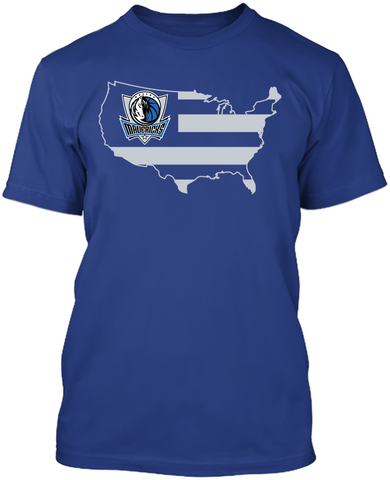 Dallas Mavericks - Broad Stripes