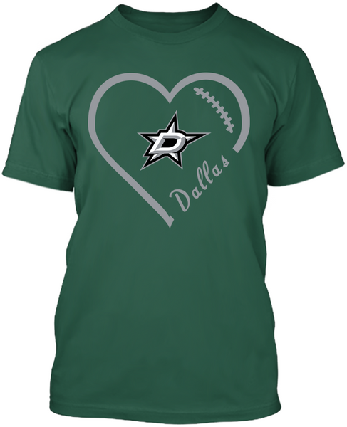 Dallas Stars Heart