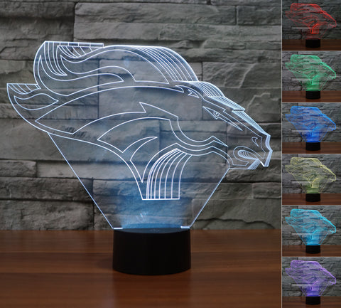 "Denver Broncos ""Logo"" - 3D LED Lamp/Night Light"