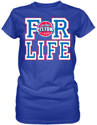 Detroit Pistons - For Life