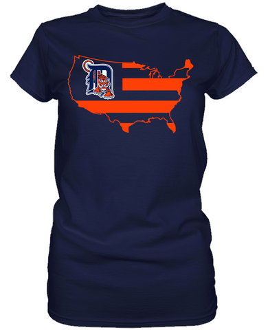 Detroit Tigers - Broad Stripes