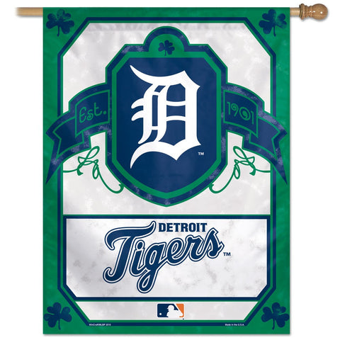"Detroit Tigers 27"" x 37"" Vertical Banner Flag"