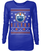 Edmonton Oilers Holiday Sweater