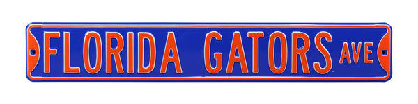 Florida Gators Ave Sign