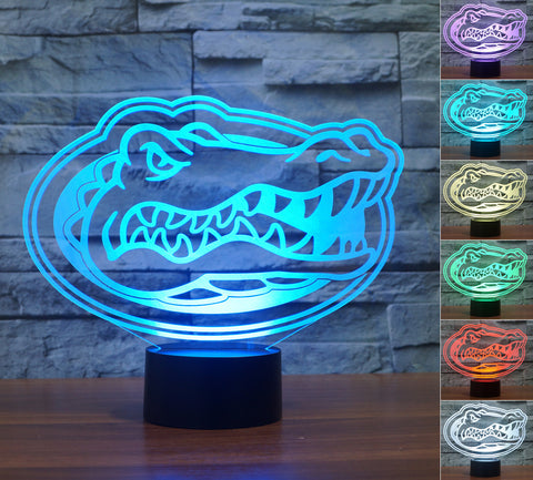 "Florida Gators ""Logo"" - 3D LED Lamp/Night Light"