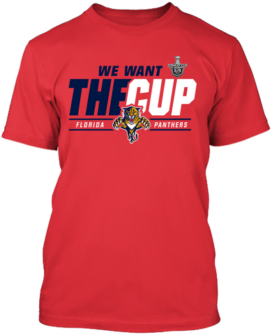 Florida Panthers 2016 Stanley Cup Playoffs - We Want The Cup