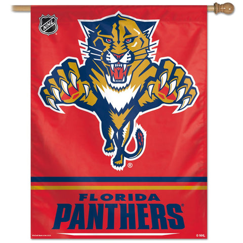 "Florida Panthers 27"" x 37"" Vertical Banner Flag"