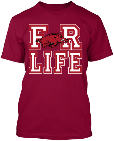 For Life - Arkansas Razorbacks