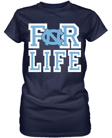 For Life - North Carolina Tar Heels