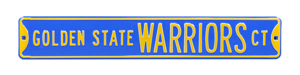 Golden State Warriors CT Sign