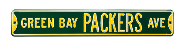 Green Bay Packers Ave Sign