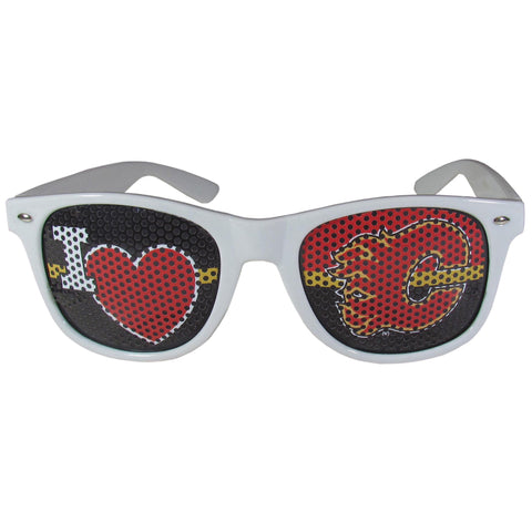 Calgary Flames® I Heart Game Day Sunglasses
