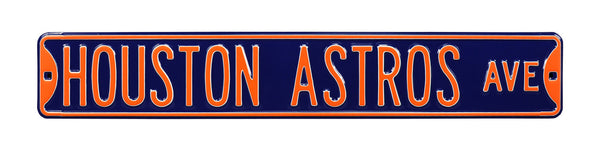 Houston Astros Ave Sign