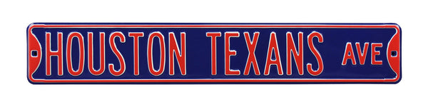 Houston Texans Ave Sign