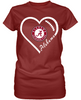 Alabama Crimson Tide Heart