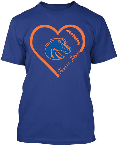 Boise State Broncos Heart
