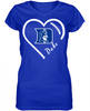 Duke Blue Devils Heart
