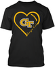 Georgia Tech Yellow Jackets Heart