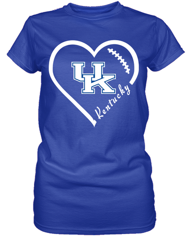 Kentucky Wildcats Heart