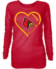 Louisville Cardinals Heart