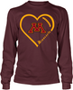 Minnesota Golden Gophers Heart