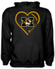 Missouri Tigers Heart