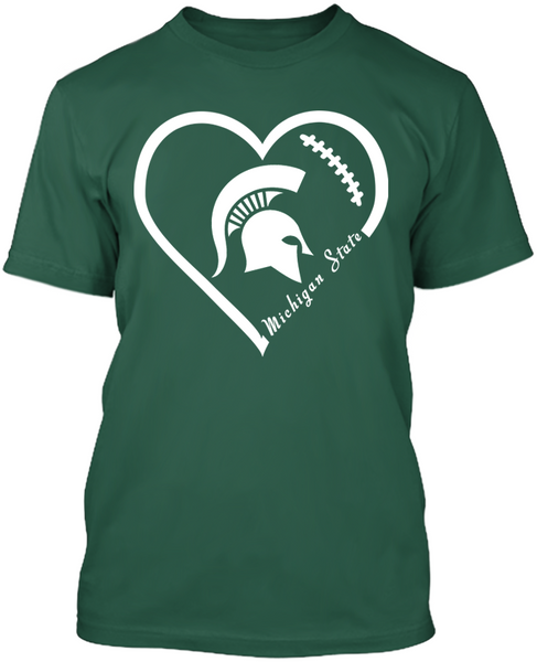 Michigan State Spartan Heart