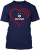 UCONN Huskies Heart
