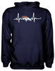 Denver Broncos Heartbeat