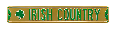 Irish Country Street Sign