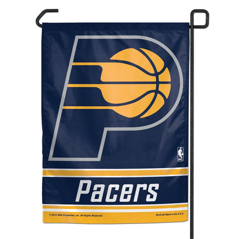 "Indiana Pacers 11"" x 15"" Garden Flag"