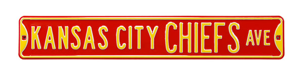 Kansas City Chiefs Ave Sign