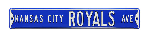 Kansas City Royals Ave Sign