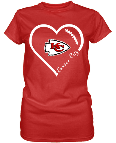 KC Chiefs Heart