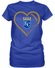 KC Royals Heart