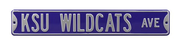 Kansas State Wildcats Ave Sign