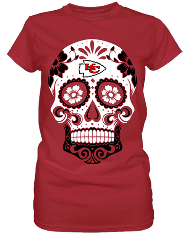 Kansas City Chiefs - Skull