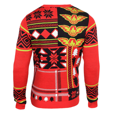 Atlanta Hawks Patches Ugly Sweater