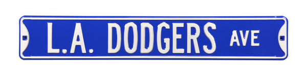 Los Angeles Dodgers Ave Sign