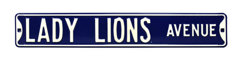 Lady Lions Ave Street Sign