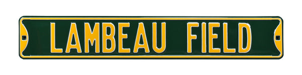 Lambeau Field Street Sign