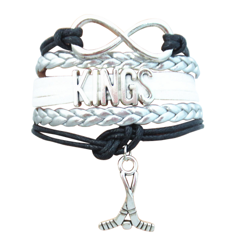 Los Angeles Kings Infinity Bracelet