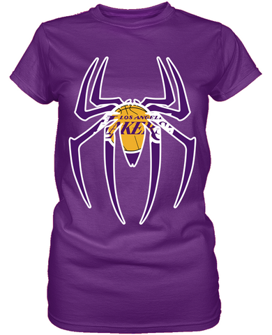 LA Lakers Spiderman