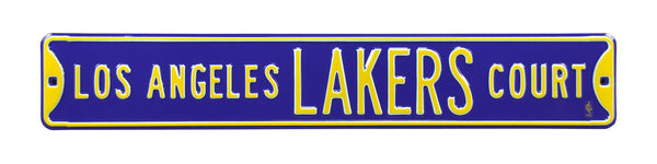 Los Angeles Lakers CT Sign