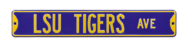 LSU Tigers Ave Sign